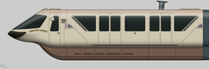 Jungle Cruise Monorail by BJ-O23