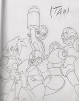 Megaman Forever by Itami-Tan
