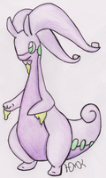 Goodra (REQUEST) by Shabou