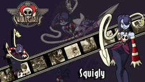 Skullgirls : Squigly Wallpaper by ariff78