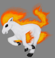 Ponyta by Hectichermit