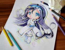 Chibi Swan Princess by Lighane