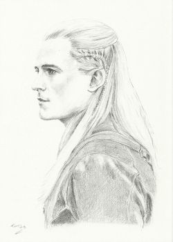 Legolas dos by Powerfulwoodelf