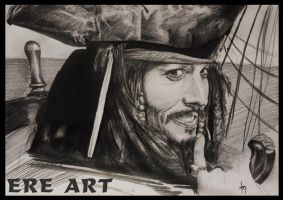 jack sparrow by ereart
