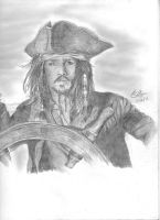 Captain Jack Sparrow by MisterLopes