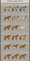 HORSE COLOR CHART - Patterns *UPDATED* by EmmaVZ