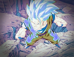 Super Saiyan God Goku 3 by smonsels