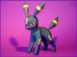 Umbreon Papercraft by Skele-kitty
