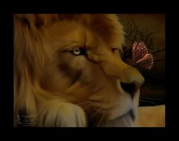 The King and The Butterfly by ManifestedSoul