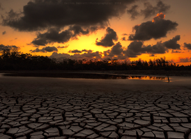 Summer Drought Sunset by Delton36712