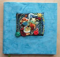 Coral Reef Diary Cover by Magical525