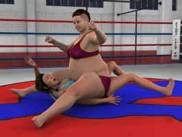 Chang'e Lee vs Baylee Tanner 2D by PhoenixCreed