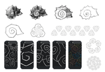 Shell stylization for iPhone case by K0M0X