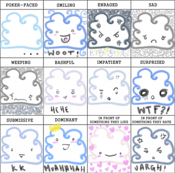 expression MEME with CLOUDS by Go-Go-Yuri