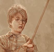 Daily Sketch 14: Young Harry by artandwine365