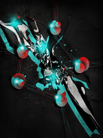 Abstract Mess lp by PortgasGFX