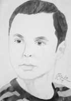 Sheldon Cooper by Dr0p3s