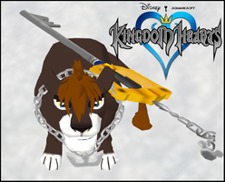 Impressive Title Items (Keyblade and necklace) by AnimaP-NetoLins