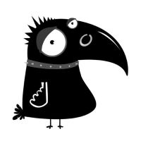 Anarchy crow by SENITHE