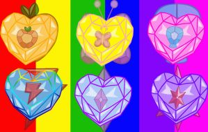 Heart Crystals of Harmony by Sasami87