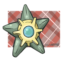 Shiny Staryu by CowsBark