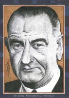 Lyndon B. Johnson by machinehead11