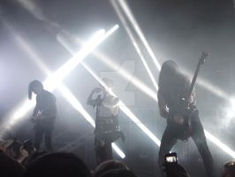 Jake Andy and Jinxx Cardiff 3/1/2014 by LivingDeadSmurf