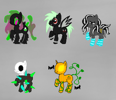 Spooky Adopts (2/5 open) by The-Harli-Hamster