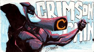 Daily Sketch - Crimson Chin by JeremyTreece