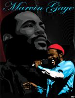 Marvin Gaye by funkydoodler