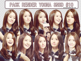 [PACK RENDER] YOONA SNSD #10 by bonsociu009