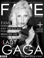 FAME magazine cover by thewallpaperguy