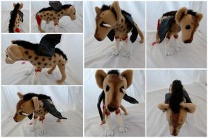 Vosha Custom Plush by IckyDog