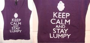 Keep Calm and Stay Lumpy by Emjean
