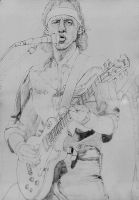 Mark Knopfler Live Aid 1985 1 SKETCH by Yankeestyle94