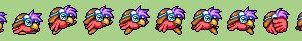 Fritz Sprites Row 1 by citreneowl