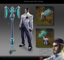 Jayce Debonair by The-Bravo-Ray