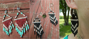 Campground Earrings by DOC-Ash1391