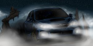 UNLEASH THE BEAST - SUBARU CANADA CONTEST by ArtisticAxis