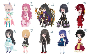 FREE TINIERME ADOPTS -- CLOSED by Marthnely-chan