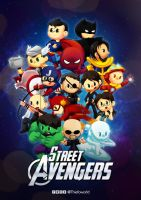 Street Avengers by Thiefoworld