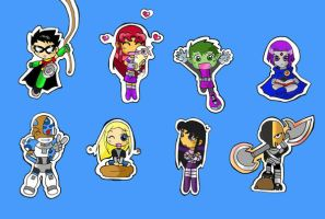 Great Chibi TeenTitan Coll. 1 by Chibi-BB