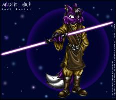 Angelo Wolf - Jedi Pic 1 by violetomega