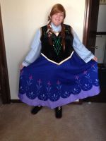 Anna of Arendelle by Labyrinthinwyrm