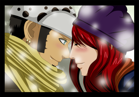 Commission Points Law and Erza Love 2 by Sarah927