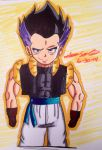 Adult Gotenks (lolz fail xD) by dbzultrafan312000