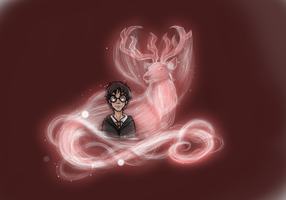 Expecto Patronum - Harry Potter by drewsefske
