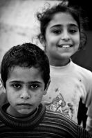 Brother and Sister by PortraitOfaLife