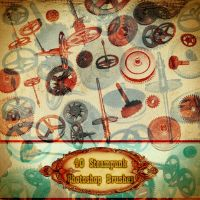 Steampunk Brushes VOL 1 by AsunderDigital