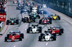 1983 United States Grand Prix West Start by F1-history